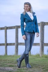 standing out in a field of jackets Sporting Hares Beauchamp Blazer | Royal Teal