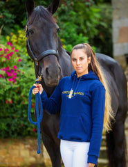Midnight Blue Sporting Hares Kingston Hoodie
