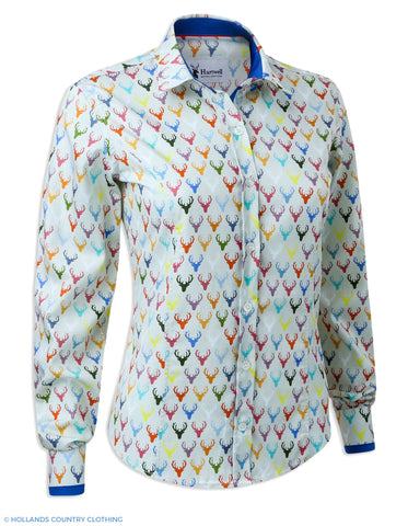 Hartwell Layla Cotton Shirt | Colourful Stags