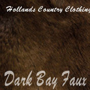Dark bay faux fur Hat 822