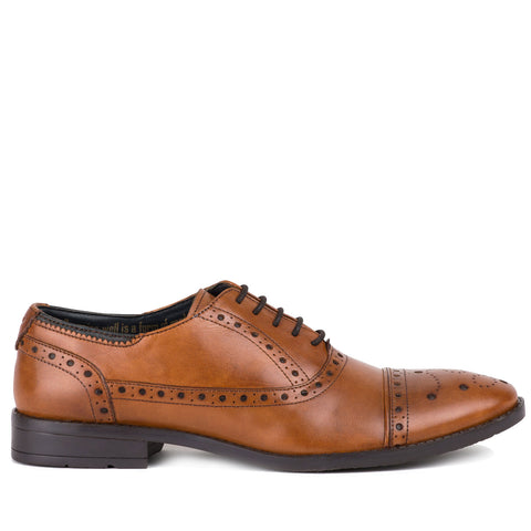 Goodwin Smith Ealing Brogue Shoe | Tan