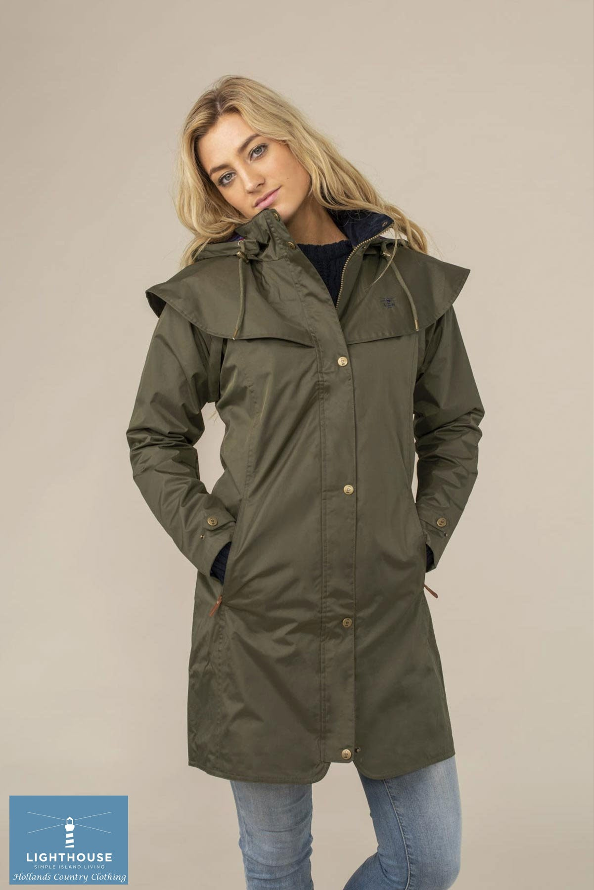 best-selling thigh length coat