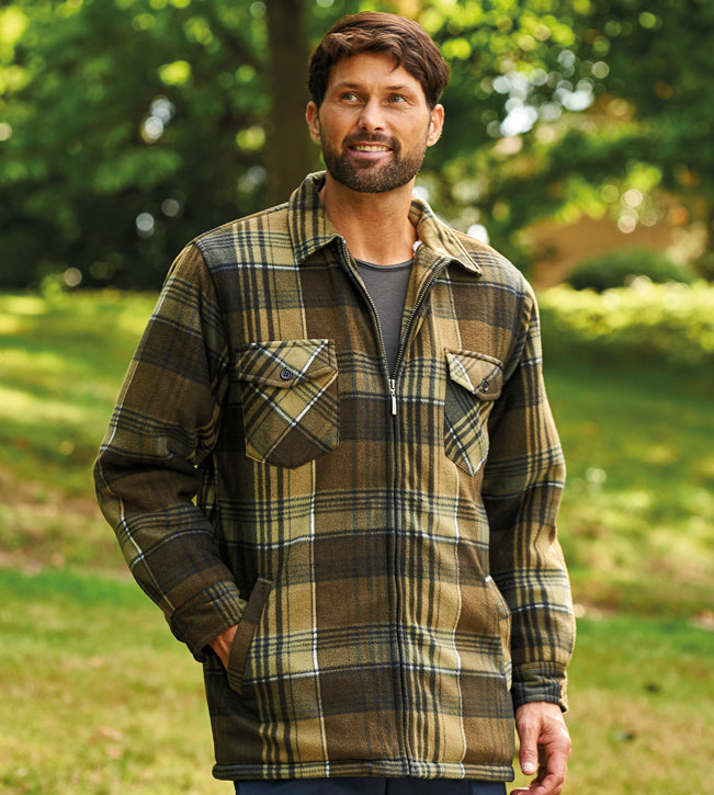 1b522e8f515b Champion Lomond Fleece Lumberjack Jacket – Hollands Country Clothing