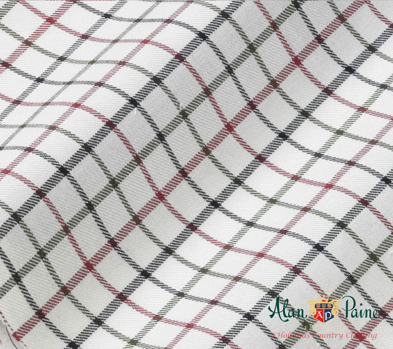 red navy green tattersall check