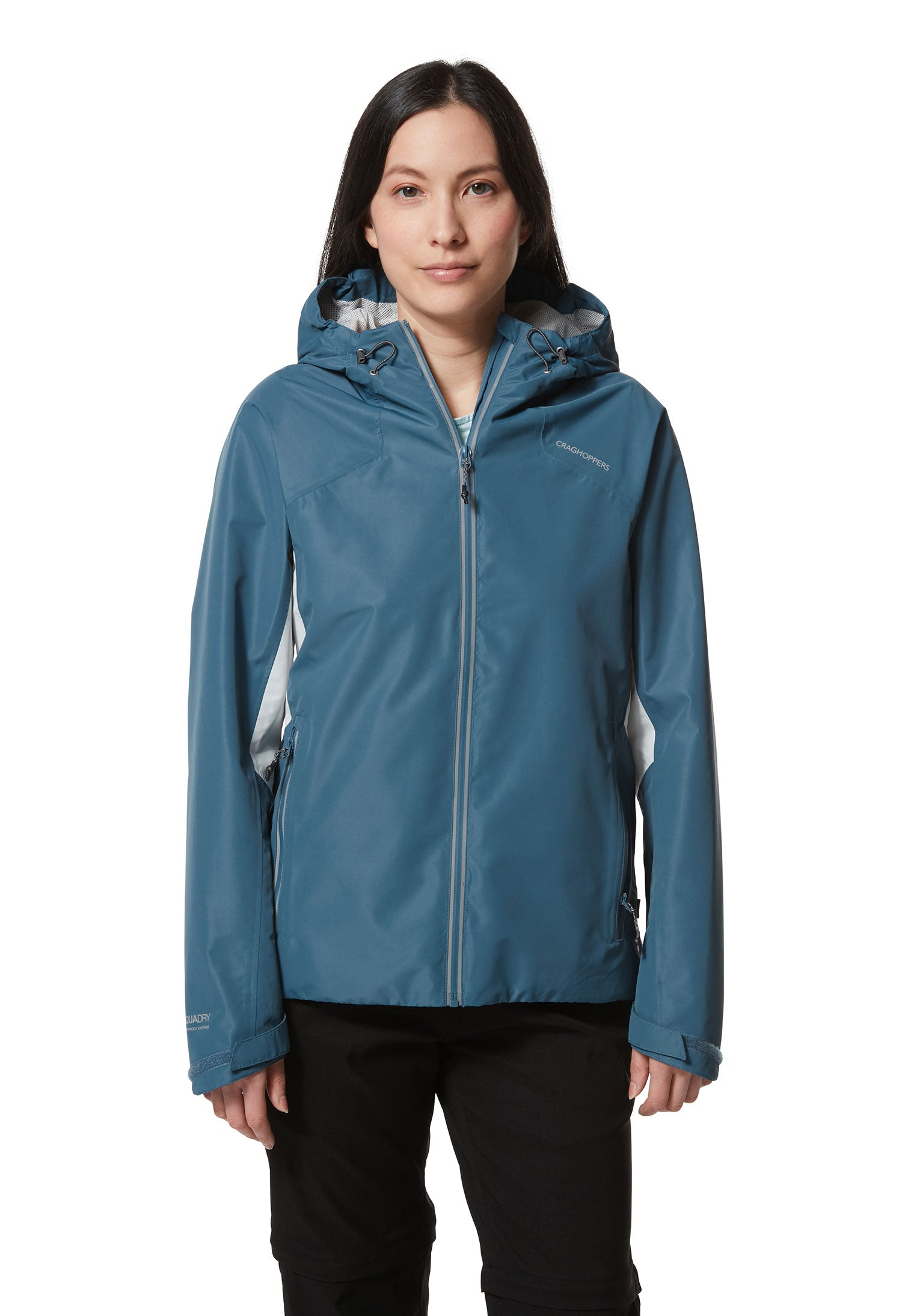 Teal Horizon Waterproof Women's Jacket by Craghoppers