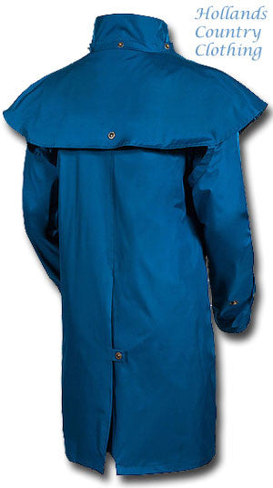 taken from the rear Outrider II 3/4 Length Rain Coat by Target Dry.