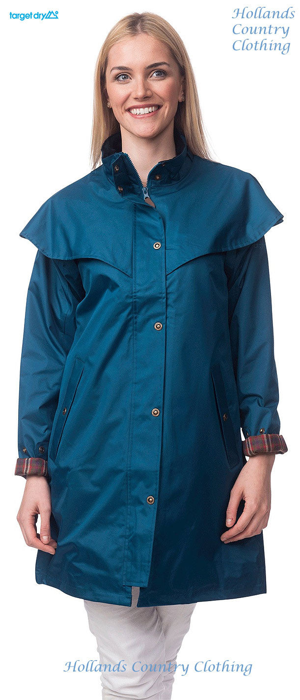 teal verision of the rain mac outback