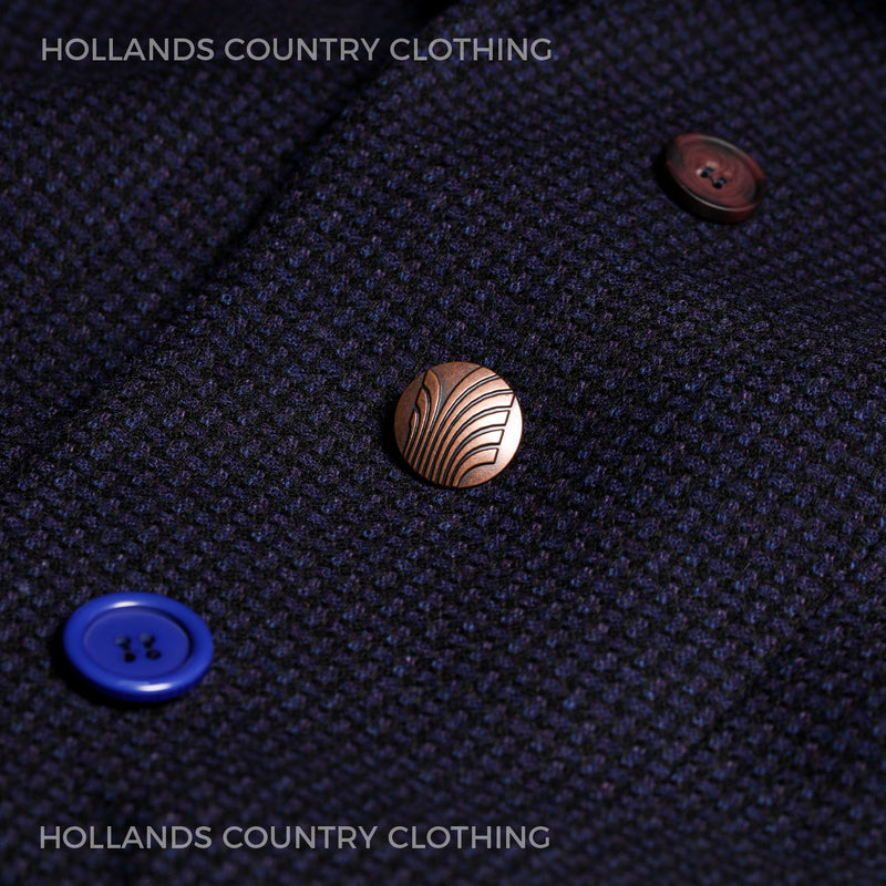 Eclectic coat button selection