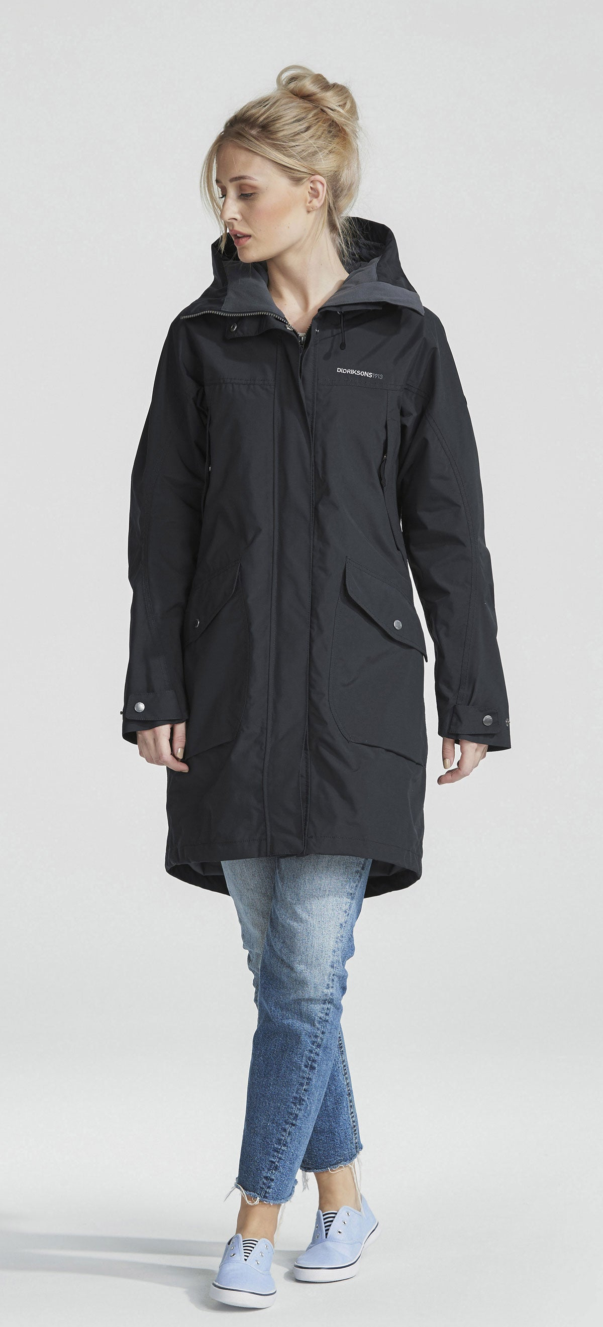 taking a trip in Didriksons Ladies Thelma Waterproof parka coat