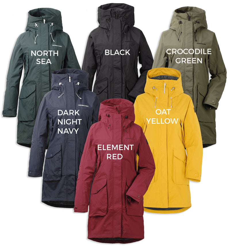 Colours; Black, North Sea, Oat Yellow, Element Red, Crocodile Green, Dark Night Blue