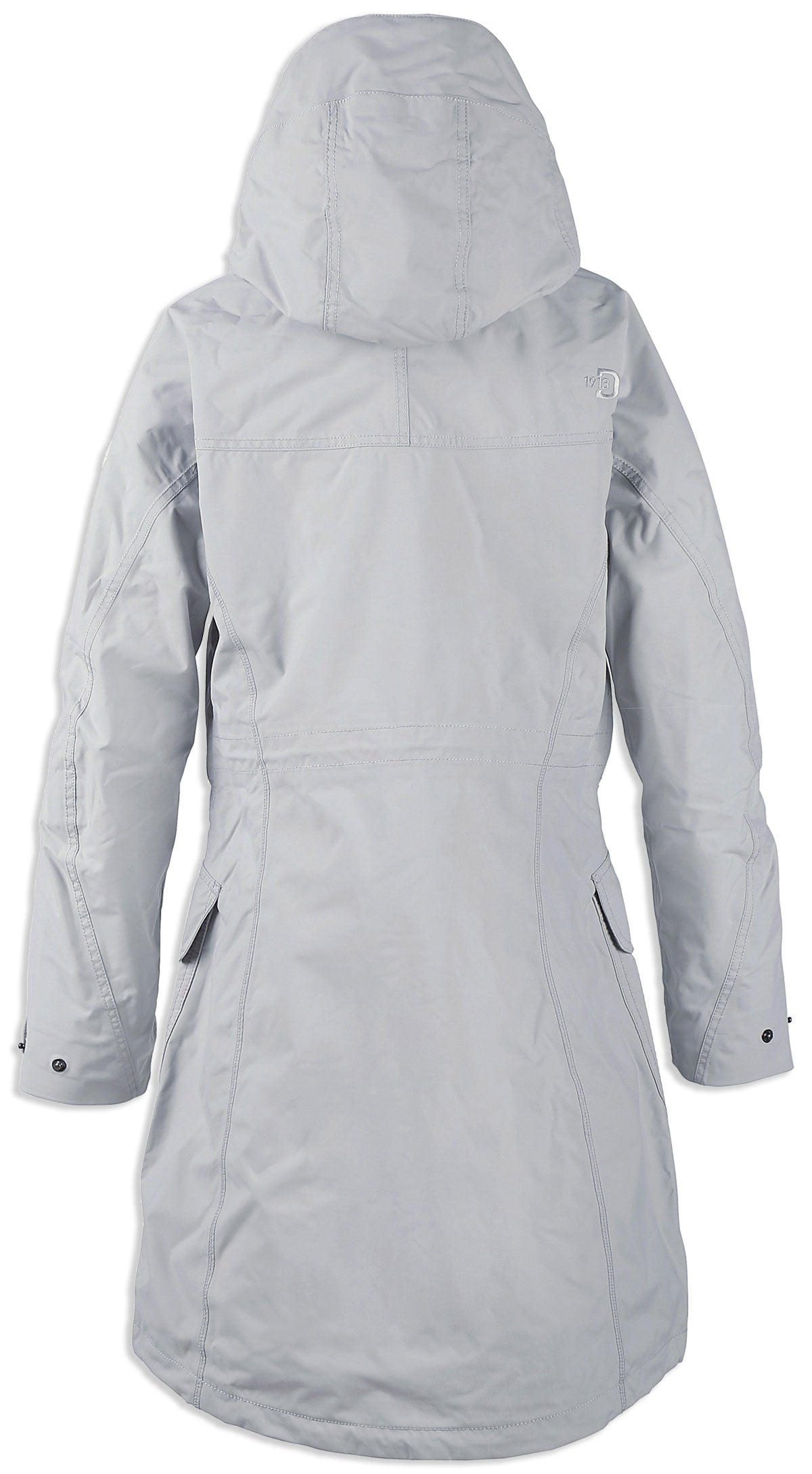 back Didriksons Ladies Thelma Waterproof parka coat