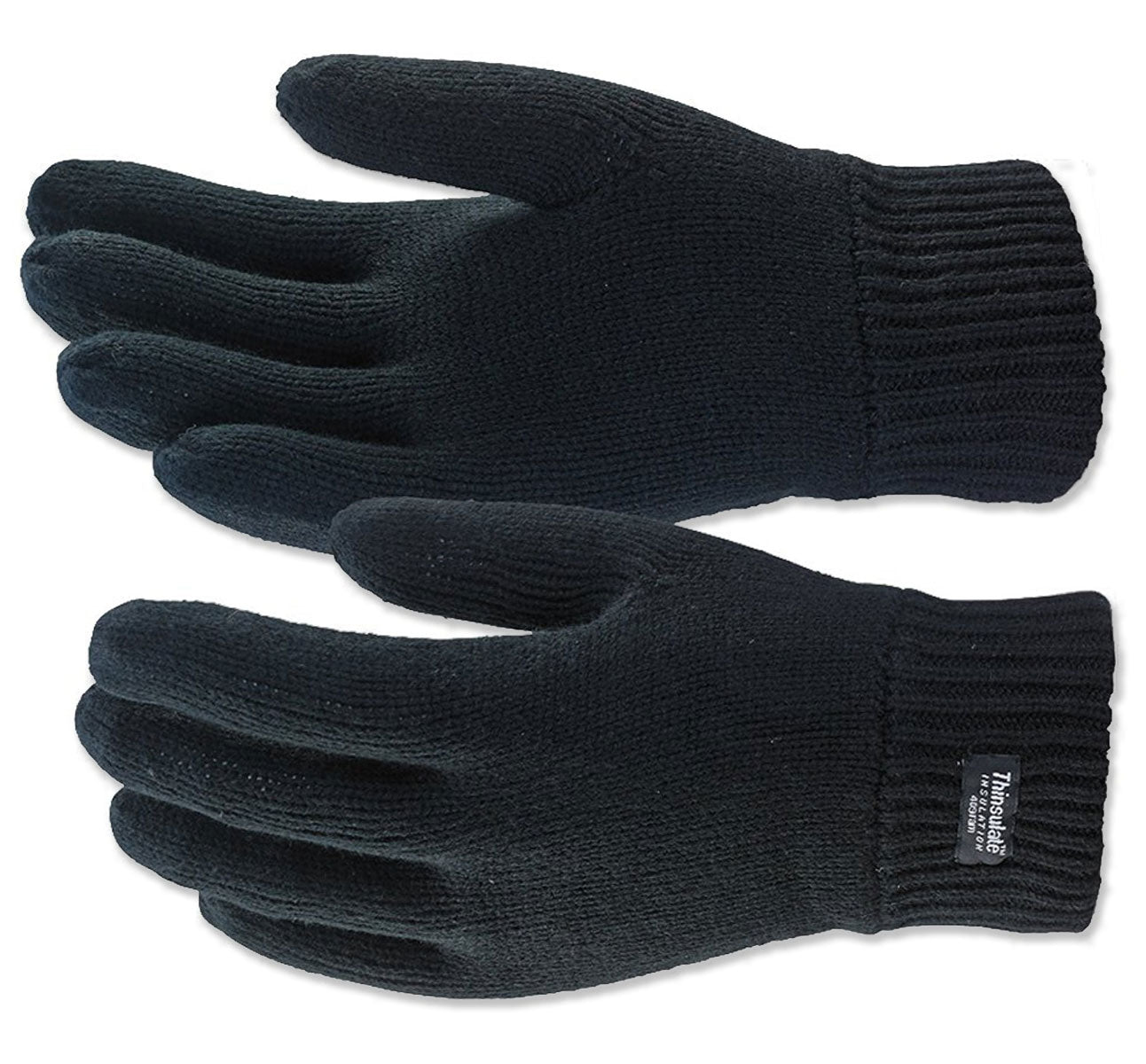 Knitted Gloves with Thinsulate Lining