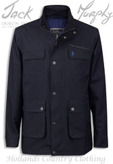 navy Jack Murphy Tod Men's Waterproof Utility Jacket