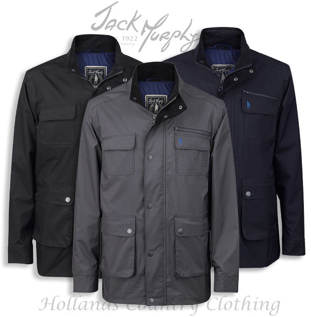 Jack Murphy Tod Men's Waterproof Utility Jacket