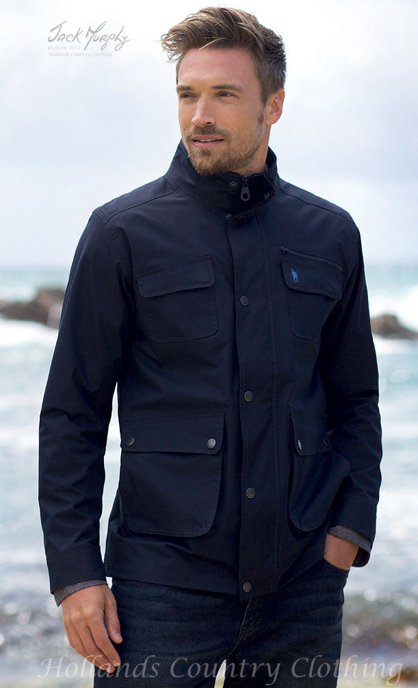 outdoor at the beach Jack Murphy Tod Men's Waterproof Utility Jacket
