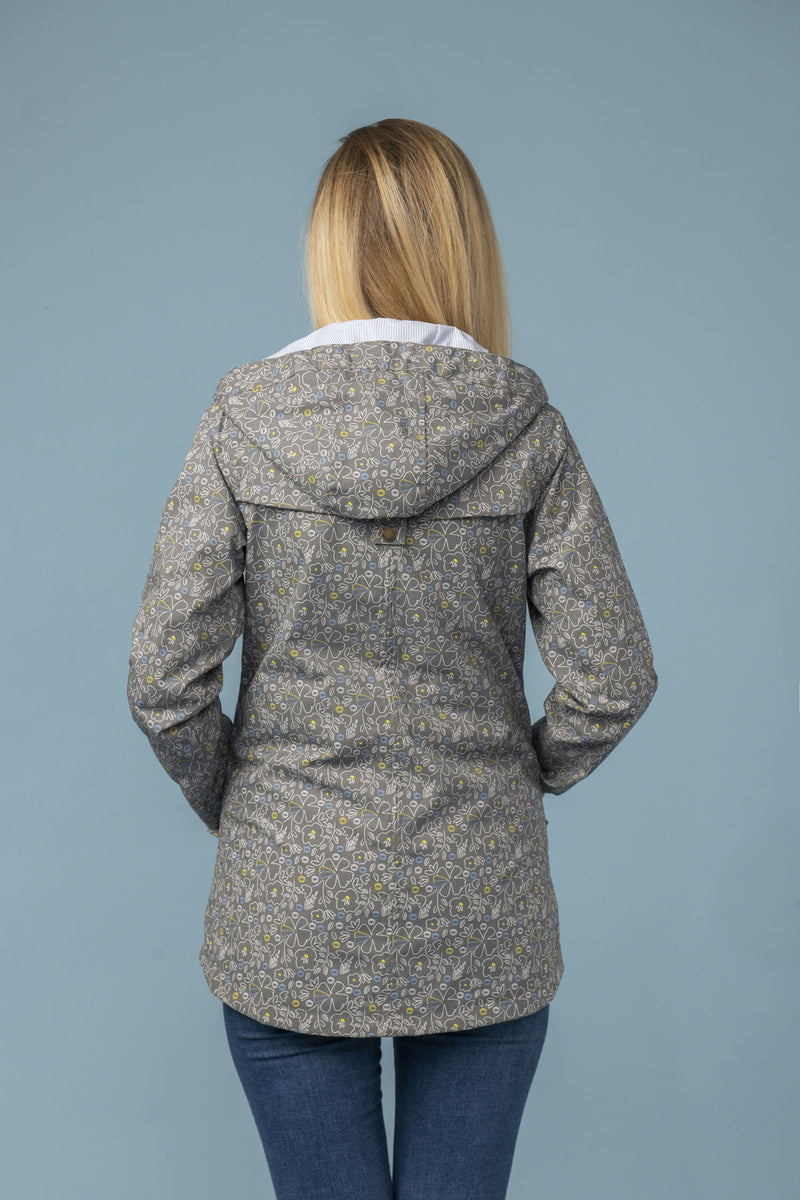 Back View Tori Waterproof Jacket by Lighthouse