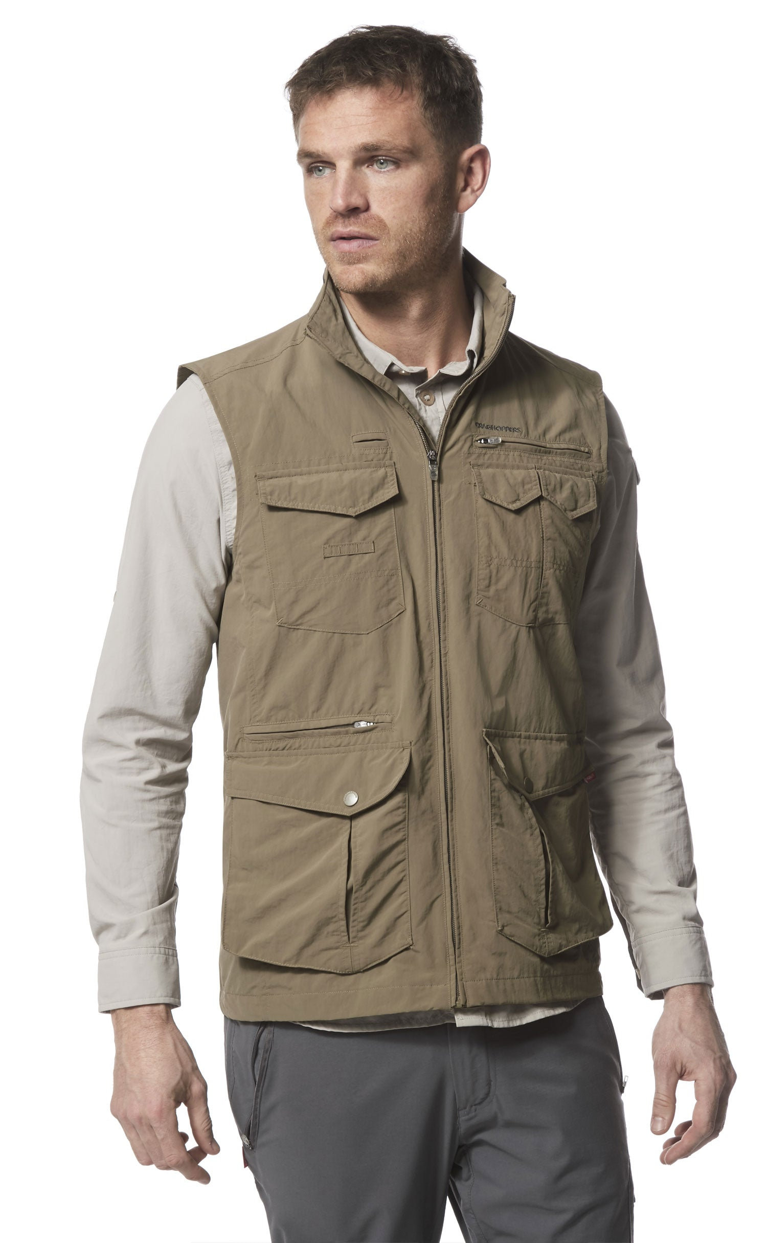 the classic cargo gilet with the latest innovative technical features
