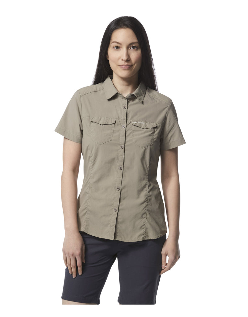 Mushroom Ladies Adventure Short Sleeve Shirt II by Craghoppers