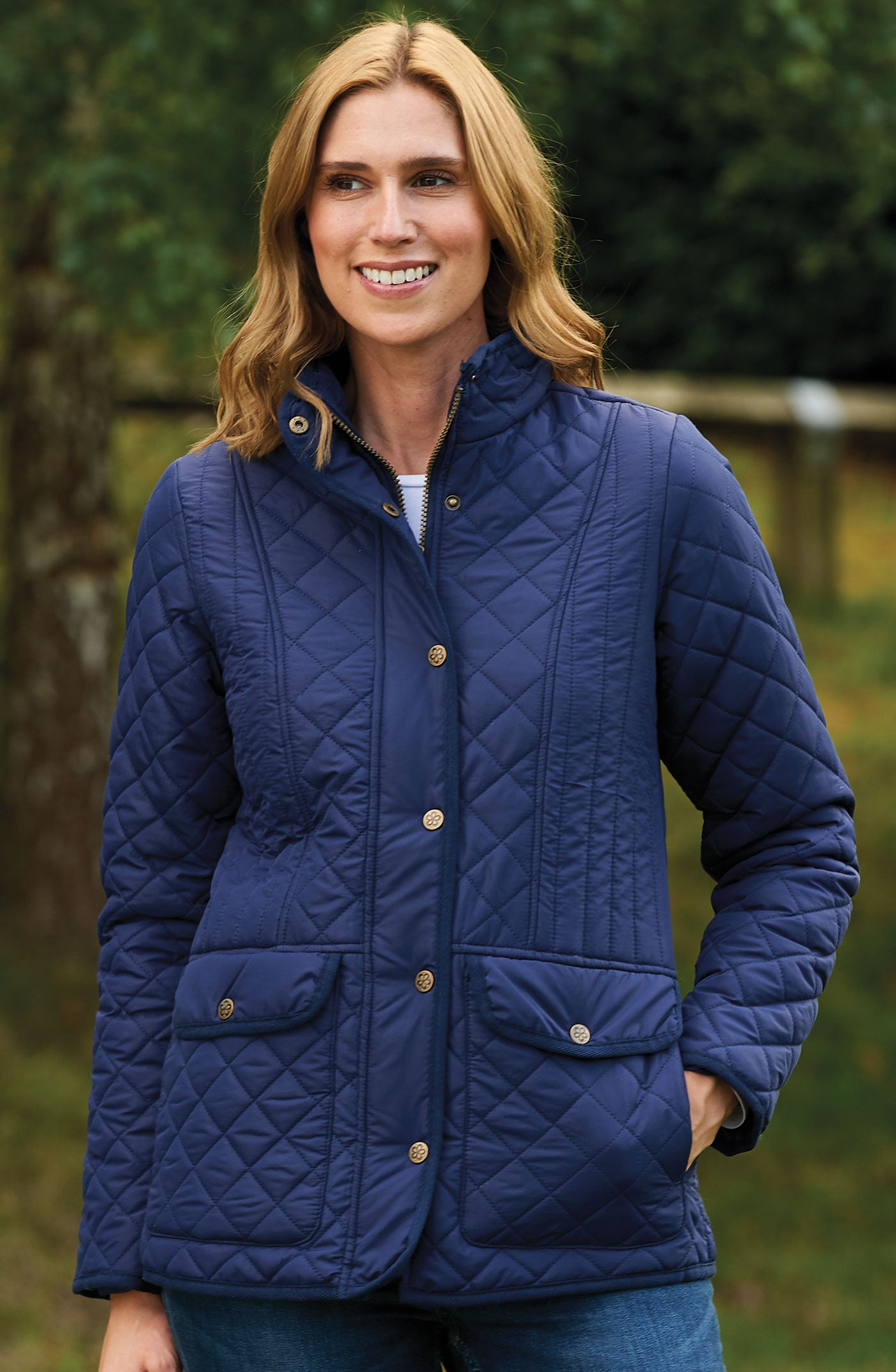 Tring Ladies Diamond Quilt Jacket from Country Estate
