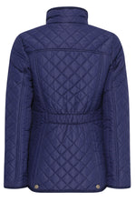 Tring Ladies Diamond Quilt Jacket from Country Estate back view