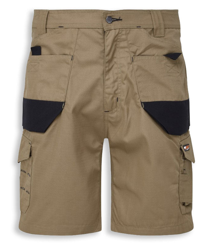 Sand/Black Castle Tuffstuff Elite Work Shorts
