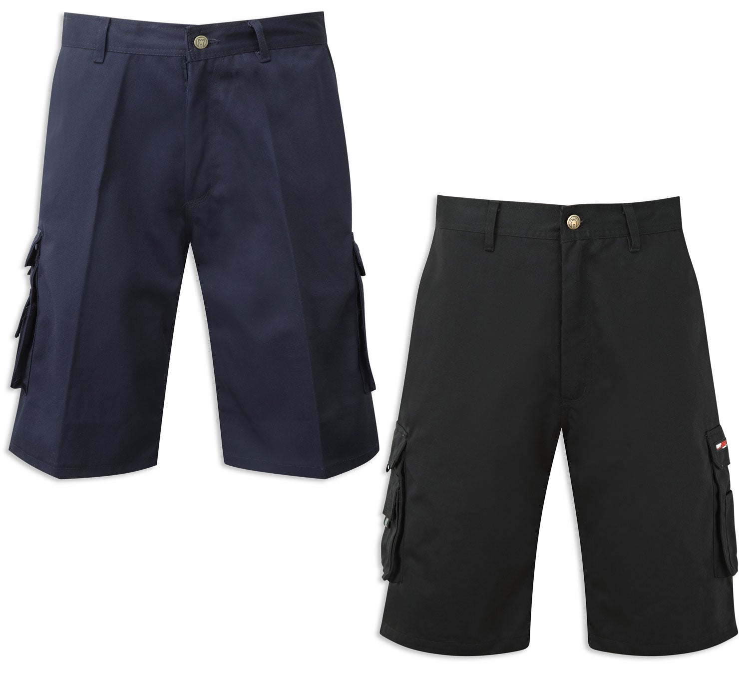 Castle Tuffstuff Pro Work Shorts | Navy, Black