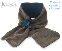 Jack Murphy Eclipse Ladies Ladies Tweed Scarf