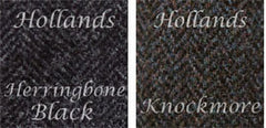 Jack Murphy Men's Signature Collection - featuring the Knockmore and Black Herringbone tweed