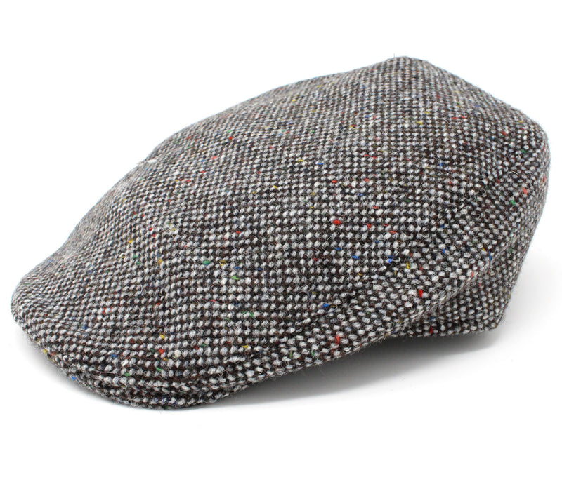Hanna Donegal Touring Tweed Cap | Grey Salt and Pepper