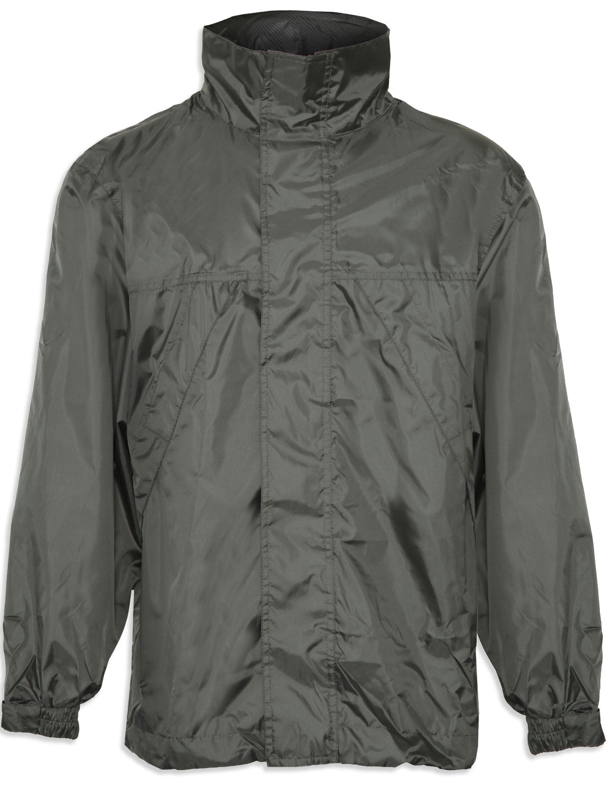 Champion Typhoon Waterproof Shell Jacket. Olive,