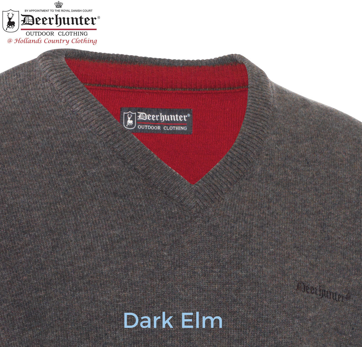 Deerhunter Lambswool V Neck Pullover