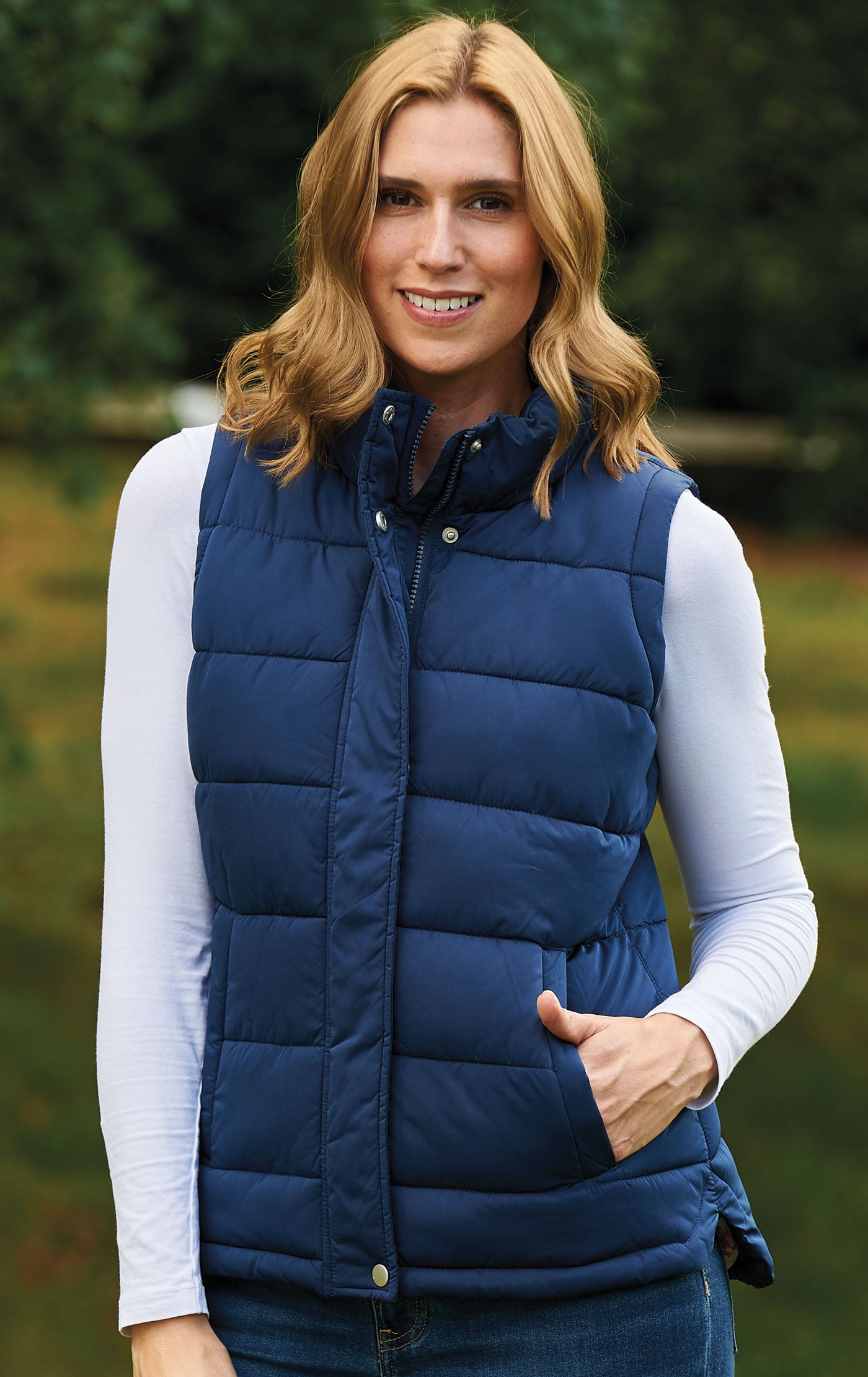 Vermont Ladies Quilted Gilet | Country Estate