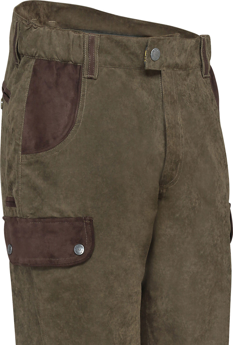 showing pockets Perdrix Hunting Trousers by Verney Carron