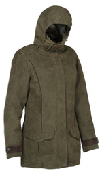 hood up Perdrix Verney-Carron Shooting Jacket