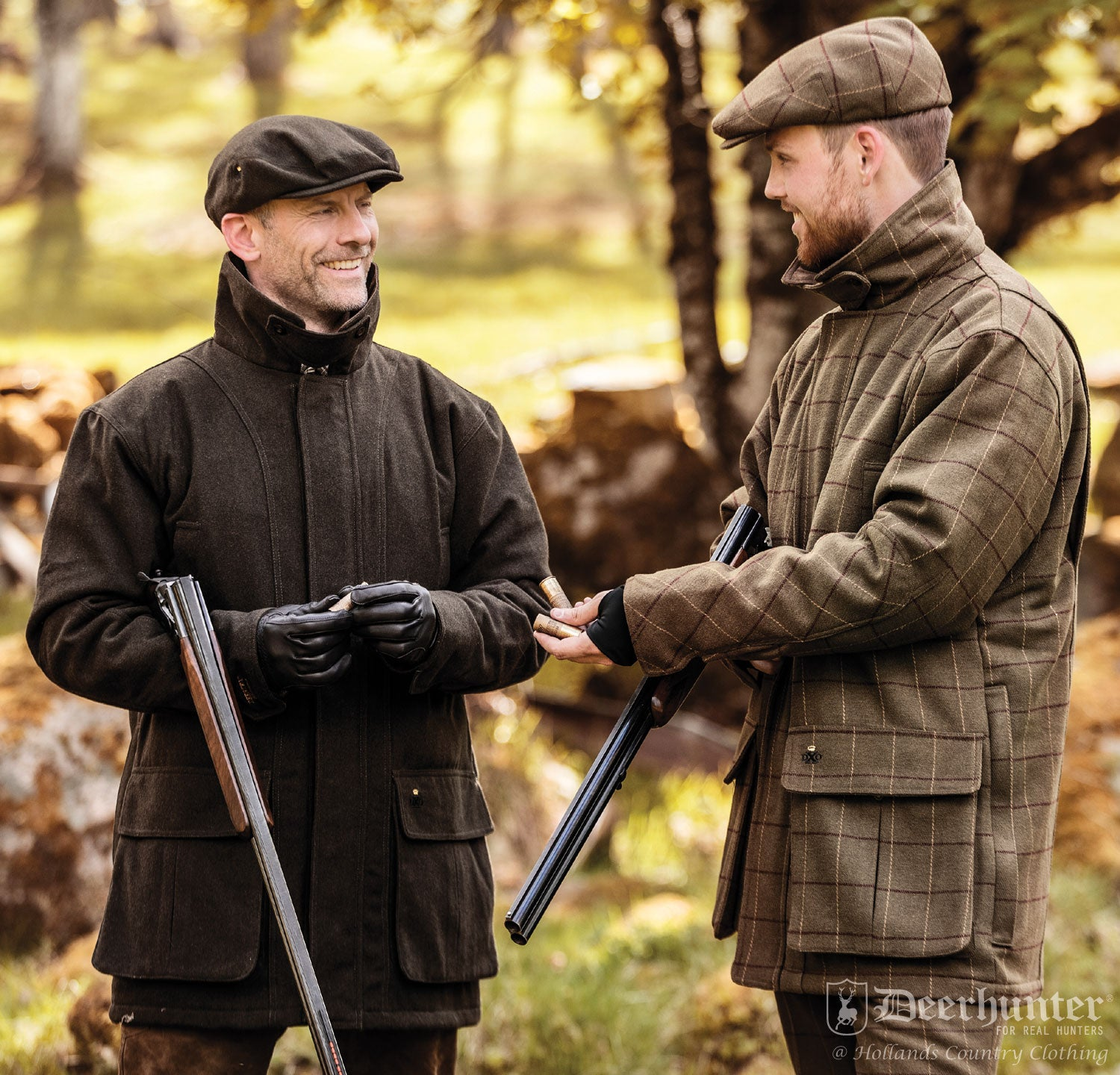 deerhunter shooting clothing  loden wool jacket
