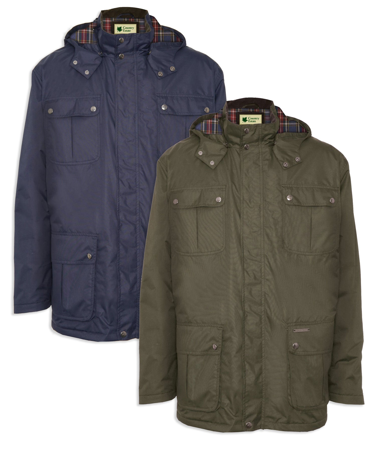 Champion Balmoral Waterproof Jacket | Olive & Navy