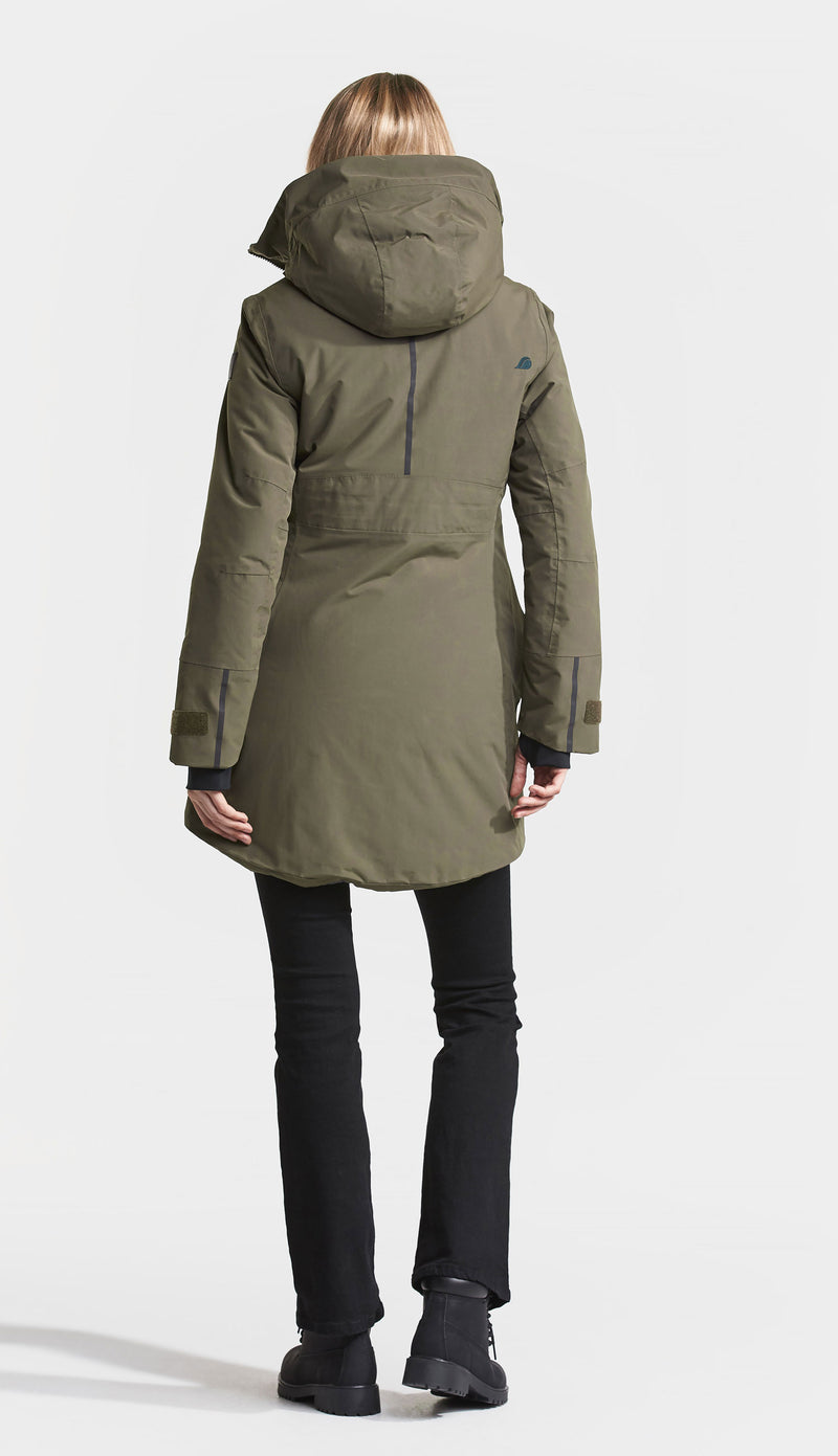 back Didriksons Silje Padded Waterproof Parka