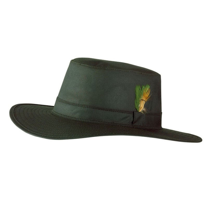 2ab8e26076b Jack Murphy Wide Brim Waxed Aussie Hat – Hollands Country Clothing