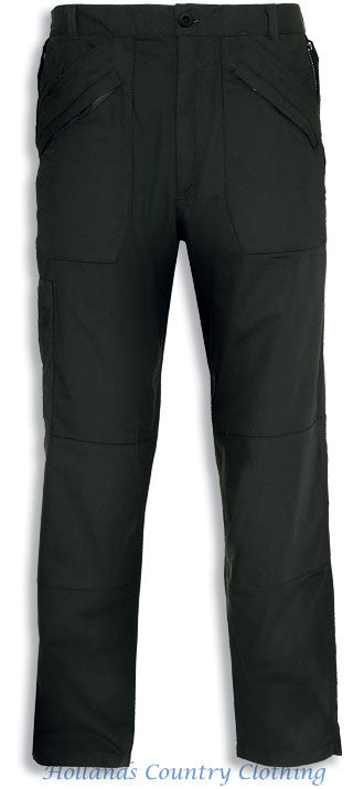 Champion Lined Kirkwall Multi Pocket Trousers  Black