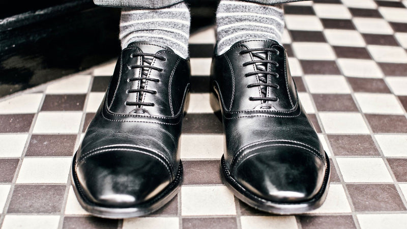 very shiny shoes by goodwin smith