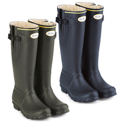 Jack Murphy Wicklow Rubber Wellington | Olive, Navy and Blackberry