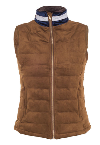 Windermere Ladies Gilet by Sporting Hares in honey tan