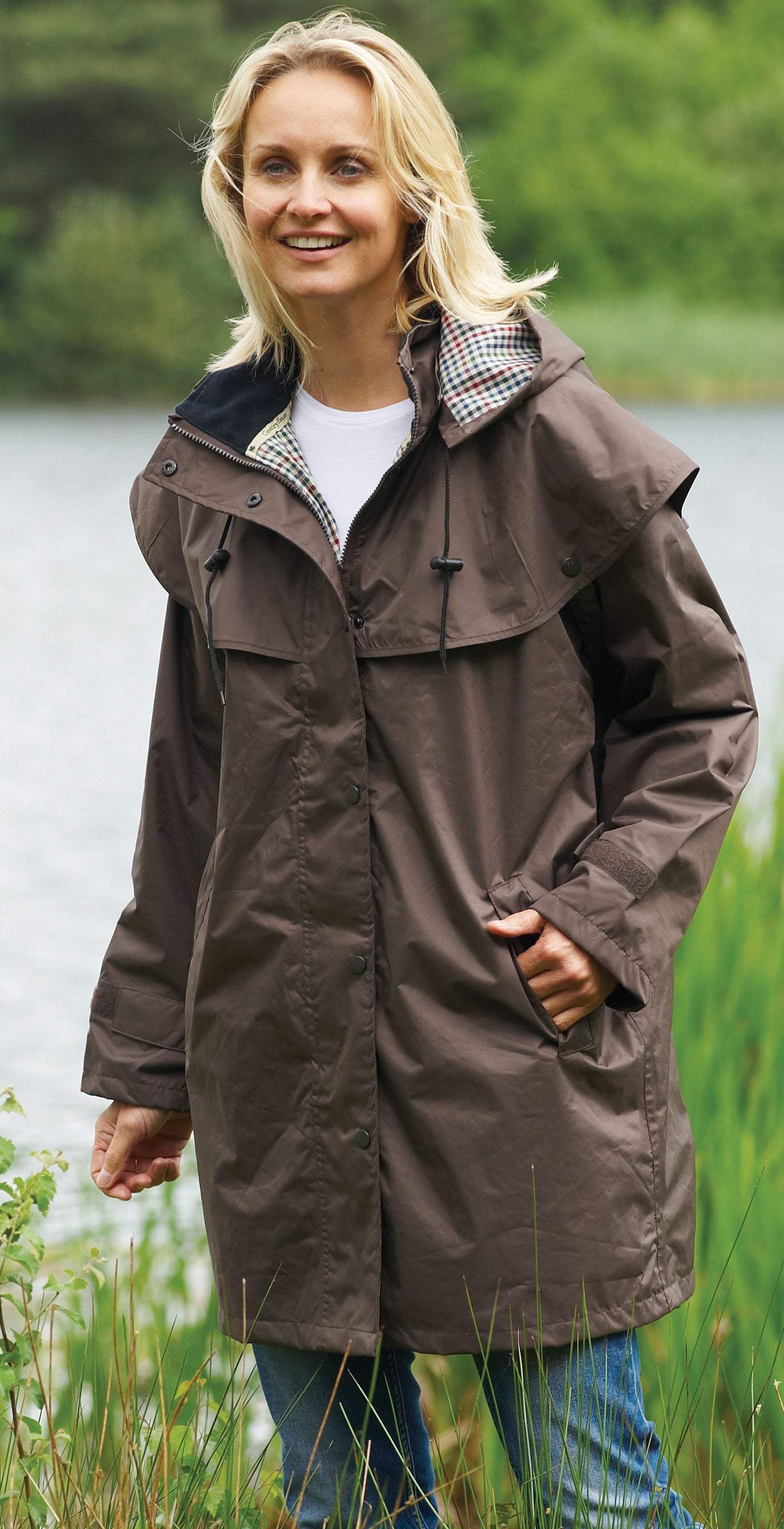 Women's Windsor Coat by Champion Country Estate colour brown