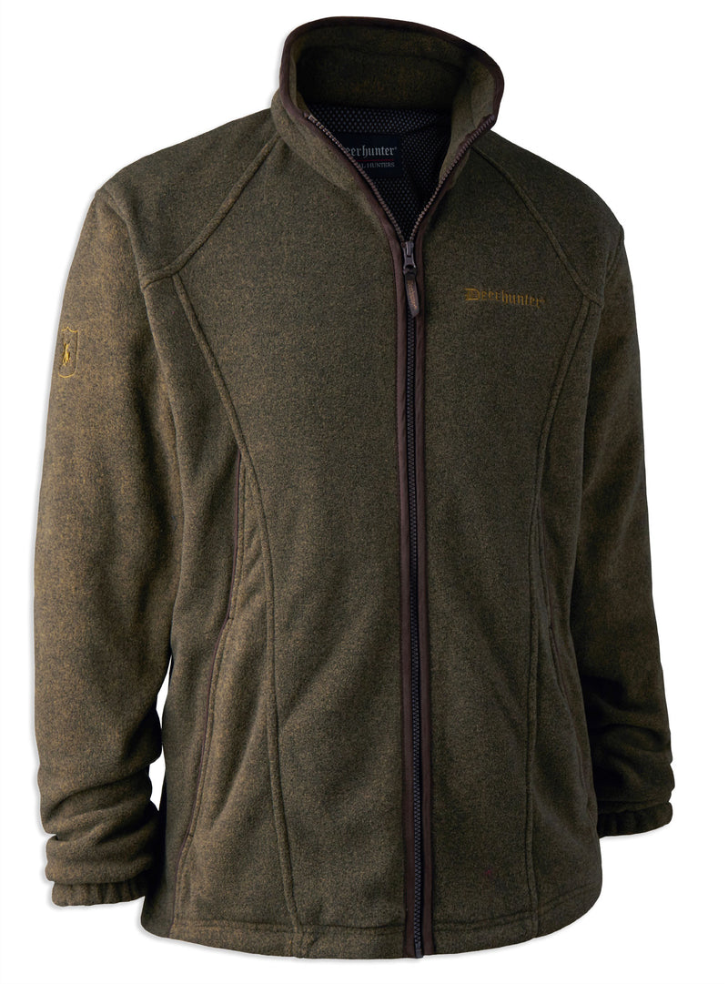 graphite green Deerhunter Wingshooter Stormliner Fleece Jacket