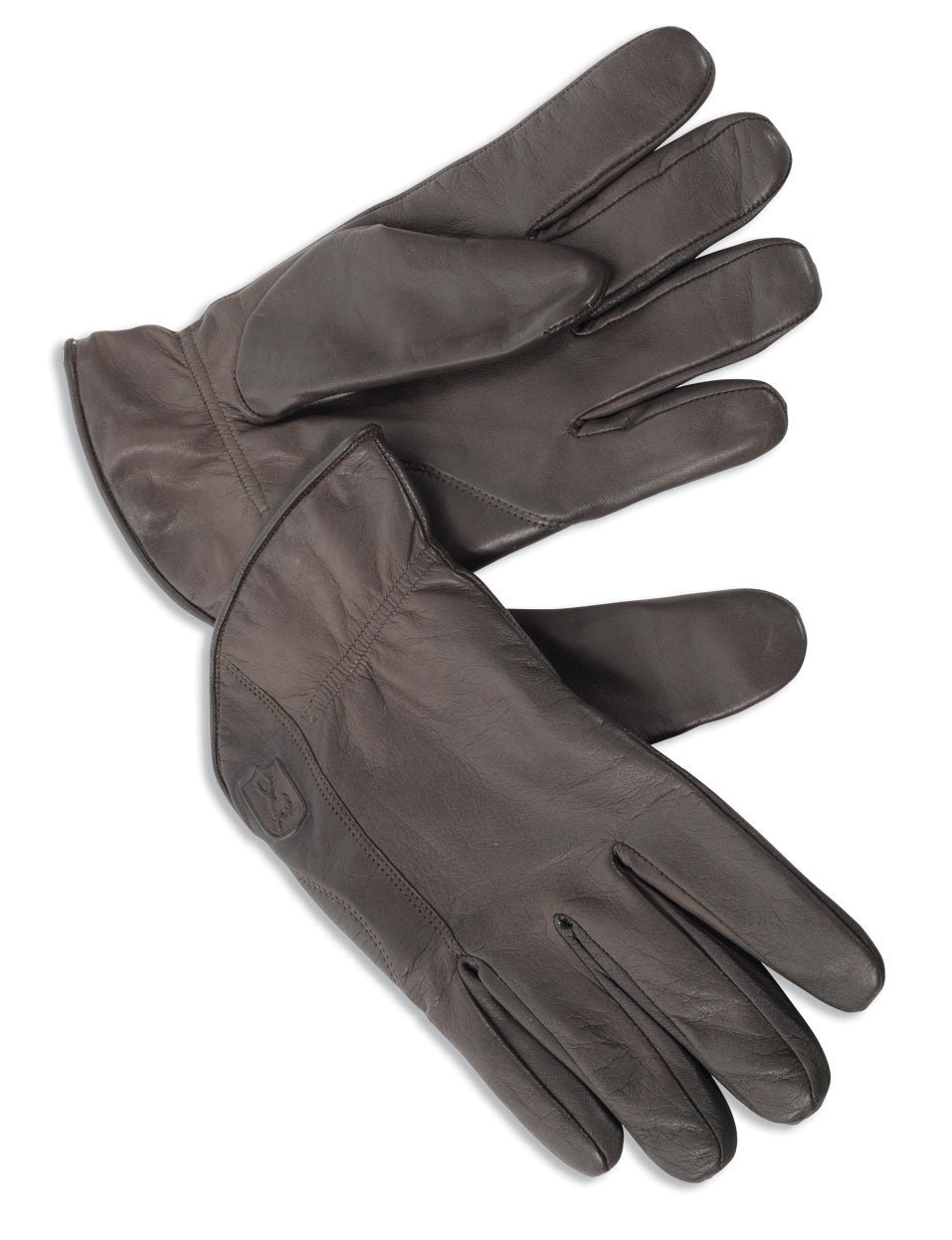 Finest quality leather gloves with light knitted pure wool liner for warmth