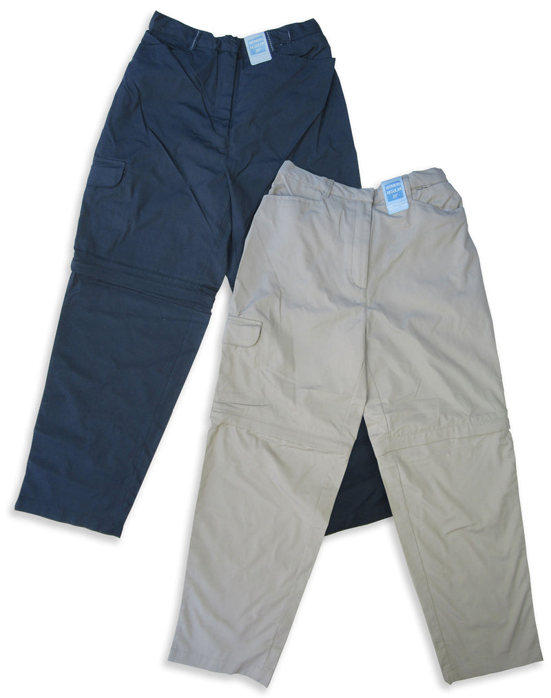 Ladies Regatta OS Zip-Off Leg Trousers