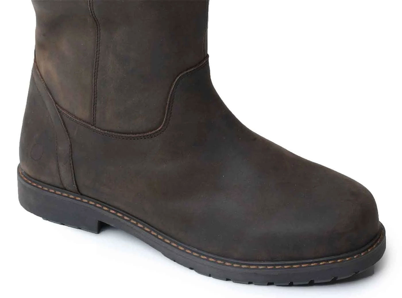 Waterproof leather country boots Woodland