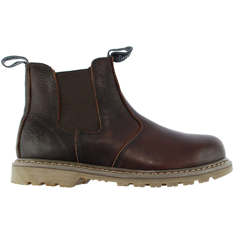 Great general purpose 'Dealer Boot' for work or leisure.  Outer tumbled full grained genuine quality Leather.