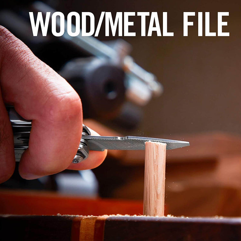 Wood metal file