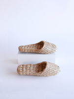Straw Slippers